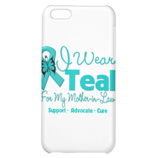 I Wear Teal For My Mother-in-Law iPhone 5C Covers