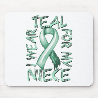 I Wear Teal for my Niece.png Mouse Pad