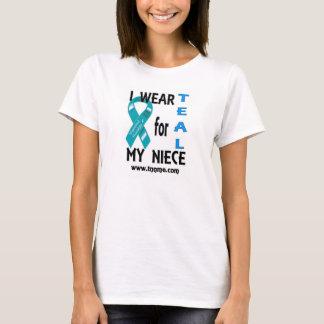 I wear teal for my niece tshirt