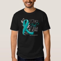 I Wear Teal For My Sister - Ovarian Cancer Tees