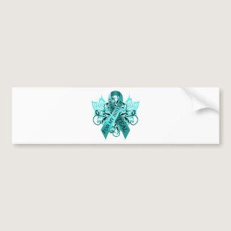 I Wear Teal for my Sister.png Bumper Sticker