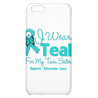 I Wear Teal For My Twin Sister Case For iPhone 5C