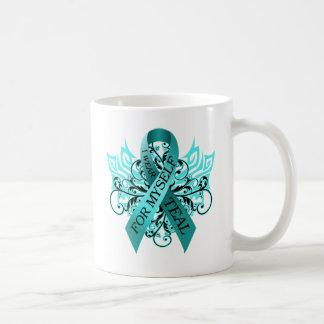 I Wear Teal for Myself.png Coffee Mug