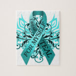 I Wear Teal for Myself.png Jigsaw Puzzles