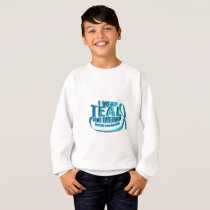 I Wear Teal For Ovarian Cancer Awareness Sweatshirt
