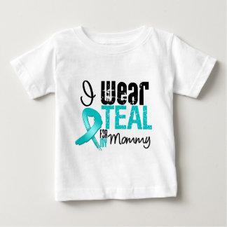 I Wear Teal Ribbon For My Mommy Tshirt