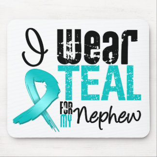 I Wear Teal Ribbon For My Nephew Mouse Pad