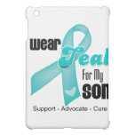 I Wear Teal Ribbon For My Son iPad Mini Cover