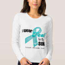 I Wear Teal Ribbon For My Son Shirts