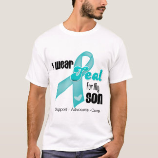 I Wear Teal Ribbon For My Son T-Shirt