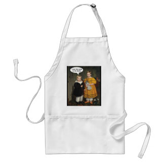 I wear the Pants - Funny Gay Couple Adult Apron