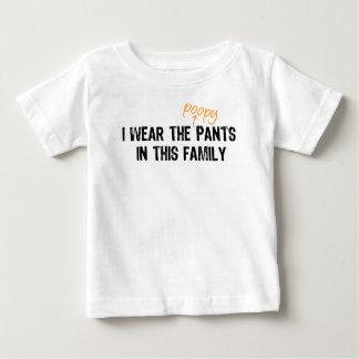 I wear the pants... infant t-shirt