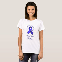 I Wear this ME CFS Ribbon for Personalized Shirt