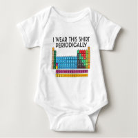 Periodic table clothing apparel zazzle i wear this periodically urtaz Images