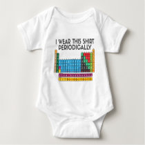 I Wear This Periodically Baby Bodysuit