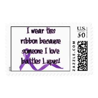 I wear this ribbon because.... Postage