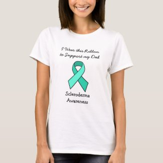 I Wear this Ribbon for my (fill in person) T-Shirt