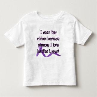 I wear this ribbon.... toddler t-shirt