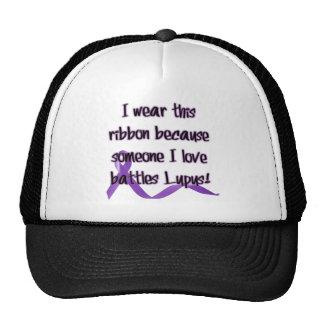 I wear this ribbon.... trucker hat