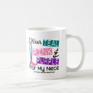 I Wear Thyroid Cancer Ribbon For My Niece 37 Coffee Mug