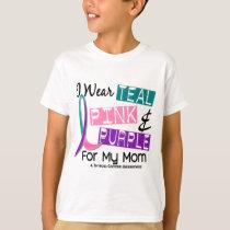 I Wear Thyroid Ribbon For My Mom 37 T-Shirt