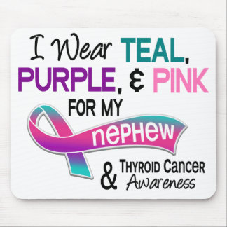 I Wear Thyroid Ribbon For My Nephew Mouse Pad