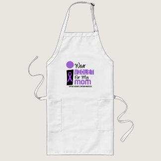 I Wear Violet For My Mom 9 Hodgkins Lymphoma Long Apron