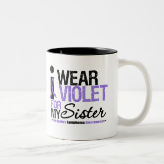 I Wear Violet For My Sister Coffee Mugs