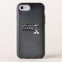 I Wear White for Someone Special Lung Cancer Aware Speck iPhone Case