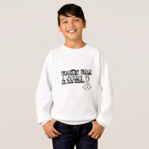 I Wear White for Someone Special Lung Cancer Aware Sweatshirt