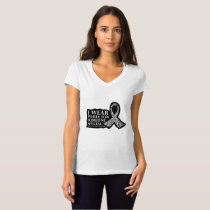 I Wear White for Someone Special Lung Cancer T-Shirt