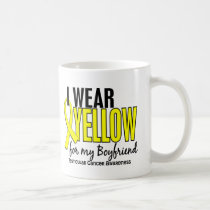 I Wear Yellow Boyfriend 10 Testicular Cancer Coffee Mug