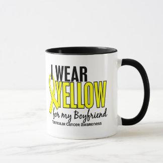 I Wear Yellow Boyfriend 10 Testicular Cancer Mug