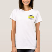 I Wear Yellow Brother-In-Law 10 Testicular Cancer T-Shirt