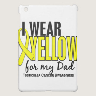 I Wear Yellow Dad 10 Testicular Cancer Case For The iPad Mini