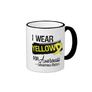 I Wear Yellow Endometriosis Awareness Matters Mugs
