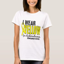 I Wear Yellow For Awareness 10 Endometriosis T-Shirt