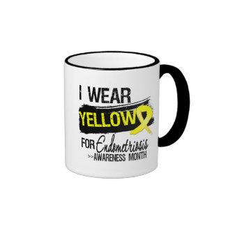 I Wear Yellow For Endometriosis Awareness Month Coffee Mugs