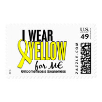 I Wear Yellow For Me 10 Endometriosis Postage