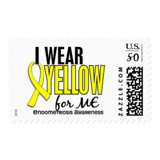 I Wear Yellow For Me 10 Endometriosis Postage