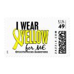 I Wear Yellow For Me 10 Endometriosis Postage Stamp