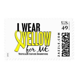 I Wear Yellow For Me 10 Testicular Cancer Stamp