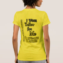 i Wear Yellow for...Me T-Shirt
