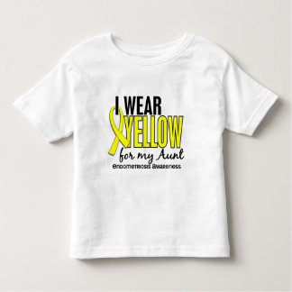 I Wear Yellow For My Aunt 10 Endometriosis Toddler T-shirt