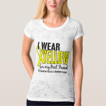 I Wear Yellow For My Best Friend 10 Endometriosis T-Shirt