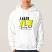 I Wear Yellow For My Dad 10 Sarcoma Hoodie