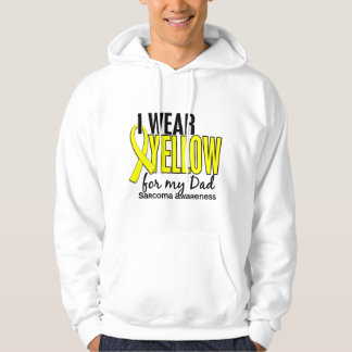 I Wear Yellow For My Dad 10 Sarcoma Sweatshirt