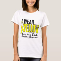 I Wear Yellow For My Dad 10 Sarcoma T-Shirt
