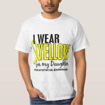I Wear Yellow For My Daughter 10 Endometriosis T-Shirt