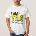 I Wear Yellow For My Daughter 10 Endometriosis Tshirt